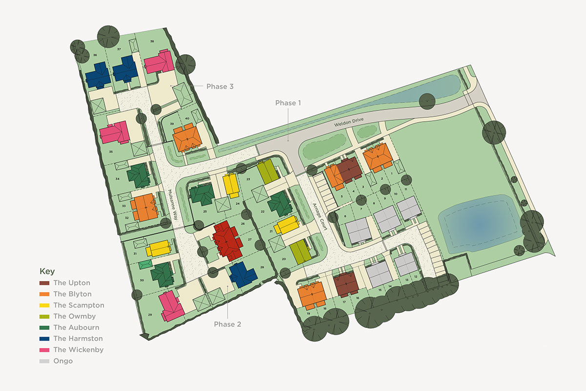 Lodge Lane Site Plan