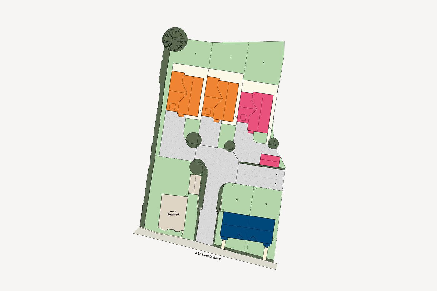 Parman Court Site Plan