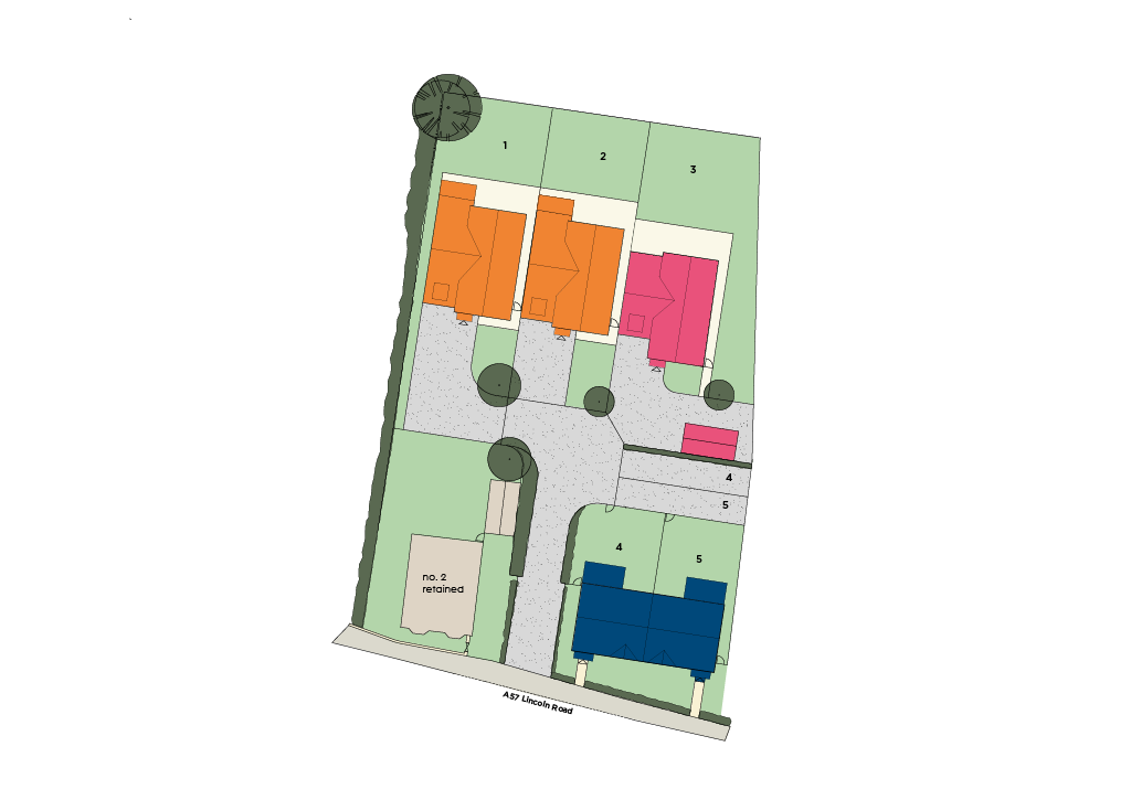 Parman Court Site Plan